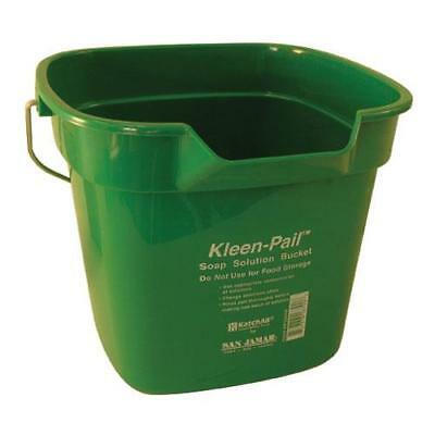 San Jamar - KP320GN - 10 qt Kleen-Pail® Green Cleaning Bucket