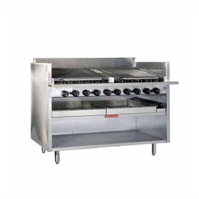"""MagiKitch'n - FM-RMB-624CR - 24"""" Gas Charboiler & Cabinet Base"""