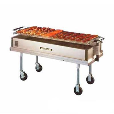 MagiKitch'n - CGL-60 - 60 in Light Duty Portable Charcoal Charbroiler