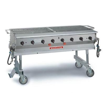 """MagiKitch'n - MCSS-60 - 60"""" Magicater Stainless Steel Portable Outdoor LP Grill"""