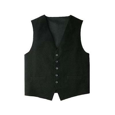 Chef Works - VPME-BLK-2XL - Black Vest (2XL)