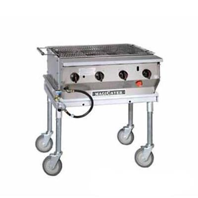 MagiKitch'n - LPG-30-SS - 30 in Magicater Portable Outdoor LP Charbroiler
