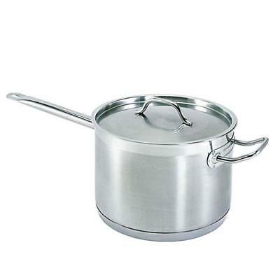 Update  - SSP-10 - 10 Qt Induction Ready Stainless Steel Sauce Pan