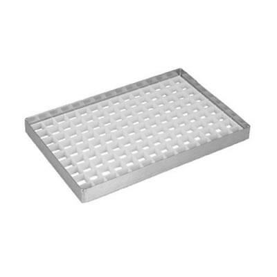 "Infra - DT5508ND - 8"" x 5 1/2"" x 3/4"" Countertop Drip Drain Tray"