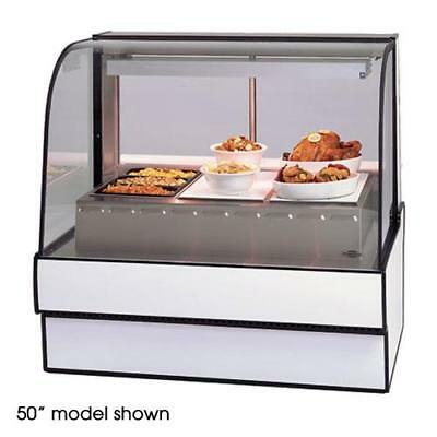 """Federal - CG5948HD - Curved Glass 59"""" Hot  Deli Case"""
