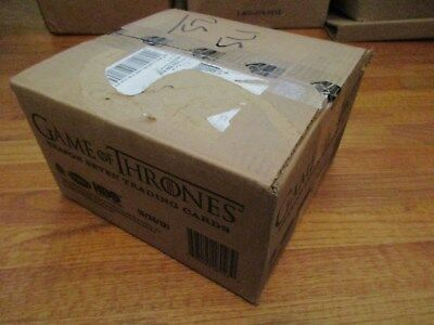 Game of Thrones Season 7 Factory Sealed 12 Box Case 24 Autographs Series Seven