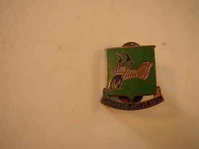 Ww2 Orderly Regulation Military Police Colar Emblem Hat Pin Enamel Meyer Ny