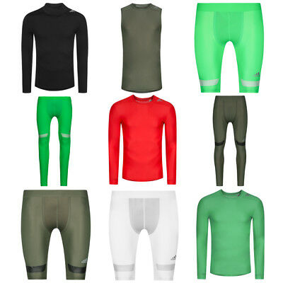 adidas Performance Techfit Chill Herren Baselayer Shirt Funktionshose Tights Top