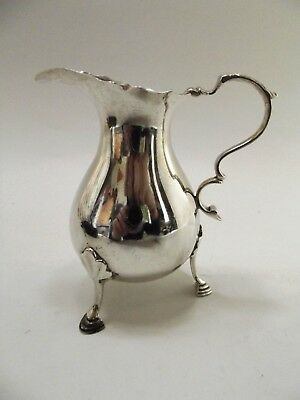 Antique Silver Cream Jug Hallmarked Chester 1924 Ref 45/12