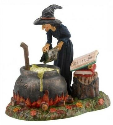 Dept 56 SV Halloween Fire Burn & Cauldron Bubble #4030764 BRAND NEW Free Ship