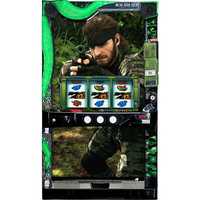 Metal Gear Solid Pachislo Machine KONAMI KPE Pachinko Slot Japanese MGS SNAKE