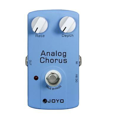 JOYO JF-37 Electric Guitar Analog Chorus Effect Pedal True Bypass DC 9V