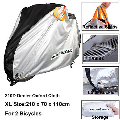 L Waterproof Bike Bicycle Cover Rain Protector Outdoor Scooter Cycling Storage