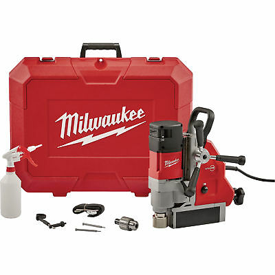Milwaukee Corded Electric Magnetic Drill Press-1 5/8 in Drill Cap. 13Amp 2.3HP