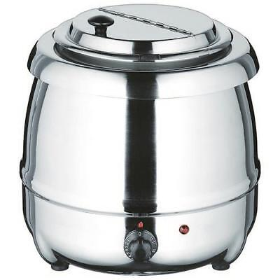 Winco - ESW-70 - Stainless Steel Soup Warmer