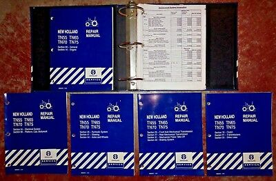 New holland tn70da tractor Manual