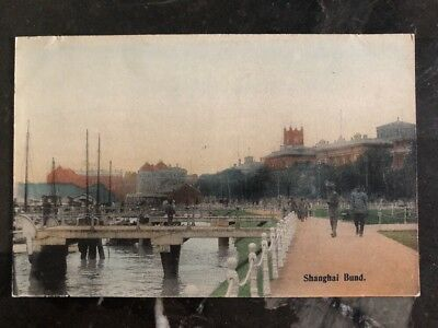 Mint Shanghai China Real Picture Postcard Bund View