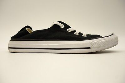 70f8f3f554e2 Mens Converse All Star Chuck Taylor Skater Black Canvas Ballet Lace Up Size  8