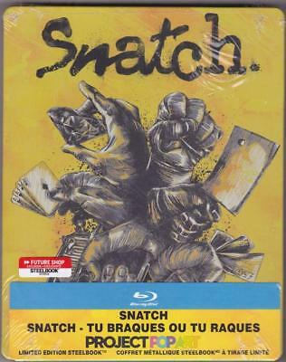 Blu-ray FUTURE SHOP Exclusive STEELBOOK: Snatch (with OBI, All Regions) New OOP