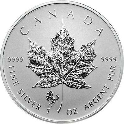 Canada - 2014 CANADA $5 Horse Privy Mark Silver Maple Leaf 1 oz Reverse proof