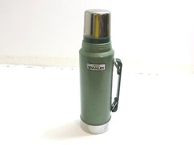 Aladdin Stanley Steel Thermos Model A-944Dh 1 Quart Size