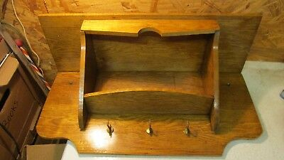 Old Oak Clock Shelf