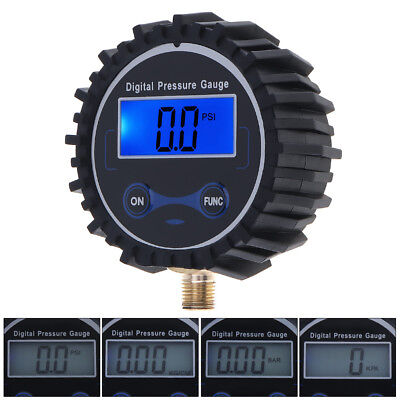 NEW Portable Car Digital Tire Pressure Gauge 230 PSI with Backlight Night Vision