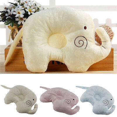 Kids Soft Pillow Memory Foam Prevent Flat Head Anti Roll support Neck