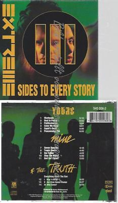 Cd--Extreme--    Iii Sides To Every Story