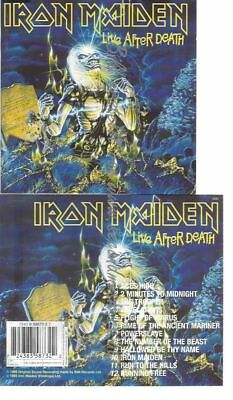 Cd--Iron Maiden--    Live After Death | Doppel-Cd