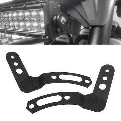 "2x LED Light Bar Roll Cage Mount Bracket 30"" 32"" For Polaris RZR XP 1000 900S"