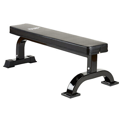 Mirafit M1 Flat Weight Bench Barbell/Dumbbell Chest Press Lifting Gym Straight