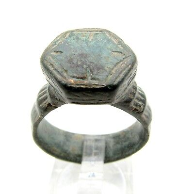 Roman Bronze Legionary Ring - Historical Gift - F503