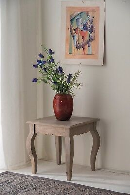 Bourdeilles Lamp Table Solid Mango Shabby Chic Vintage, Free Delivery!!