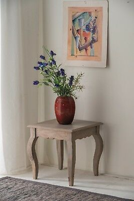 Bourdeilles Solid Mango Shabby Chic Vintage Lamp Table, Free Delivery!!