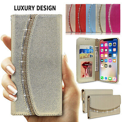 Luxury Lady Purse Wallet Flip Leather Case Cover For Apple iPhone X 8 7 6 Plus