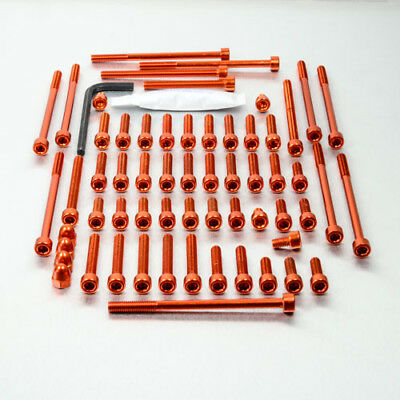 Pro-Bolt Aluminium Engine Bolt Kit - Orange EKTM100O KTM 1290 Super Duke R 17+