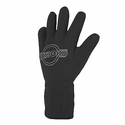 FUKUOKU FIVE FINGER MASSAGE GLOVE Left hand Waterproof Large