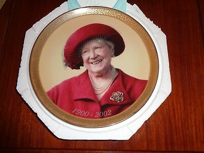 Davenport Collectors Plate THAT UNFORGETTABLE SMILE The Queen Mother