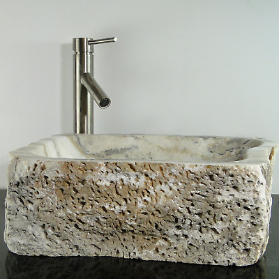 Onyx Marble Counter Top Vessel Basin Sink ONX85
