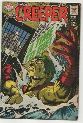 Beware of the Creeper #6, (1969), FN+ Shape, DC Comics