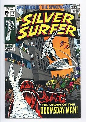 Silver Surfer #13 Vol 1 Near Perfect High Grade 1st App of the Doomsday Man