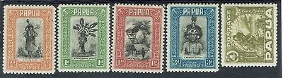 Papua 1932 Pictorial Range To 4D