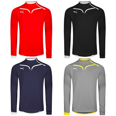 PUMA Herren 1/2 Zip Trainings Sweatshirt Sport Pullover Sweater Oberteil Sweat