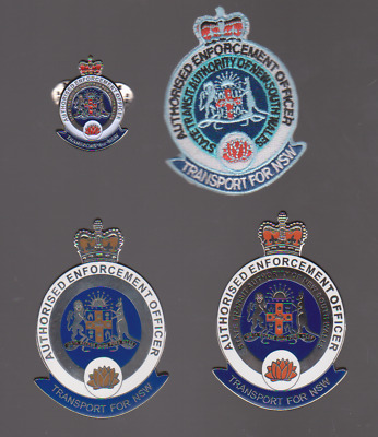 NSW Authorised Officer obsolete badges, patch & pin