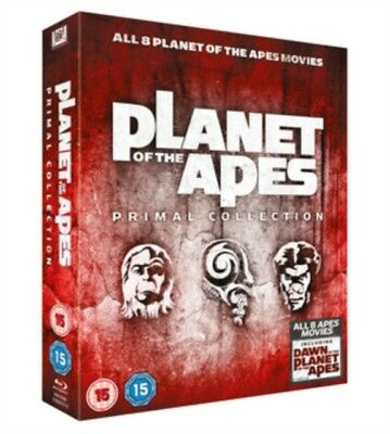 Planet of the Apes Primal Collection Blu-ray Region B New (8 Movies)