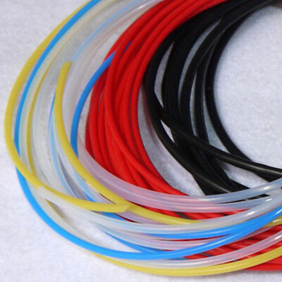0.3mm~3.4mm PTFE Tubing Pipe Clear Black Red Blue Yellow AWG8~30 lot IL