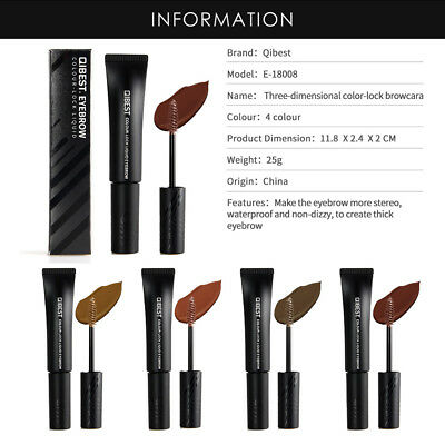 Peel-off Eye Brow Tattoo Tint Dye Gel Eyebrow Cream Waterproof Long Lasting xg5r