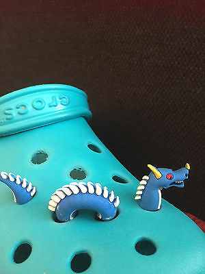 3D Monster/Dragon Shoe Charm For Crocs & Jibbitz Wristbands