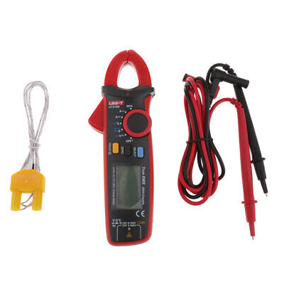 UNI-T UT210D Digital Clamp Multimeter AC/DC Volt Amp Temp Meter True RMS